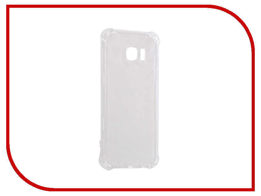 Аксессуар Чехол Samsung Galaxy S7 Edge Gecko Silicone Glowing White S-G-SV-SAMS7Edge-WH аксессуар чехол samsung galaxy j5 prime g570 gecko white s g sgj5pr wh