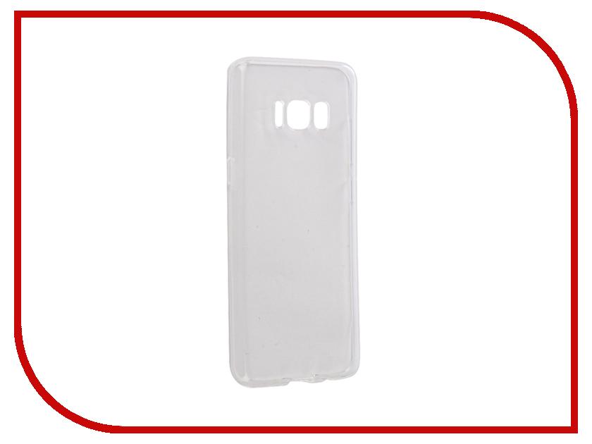 Аксессуар Чехол Samsung Galaxy S8 Gecko Silicone Glowing White S-G-SV-SAMS8-WH аксессуар чехол xiaomi mi5c gecko silicone glowing white s g sv xir5c wh