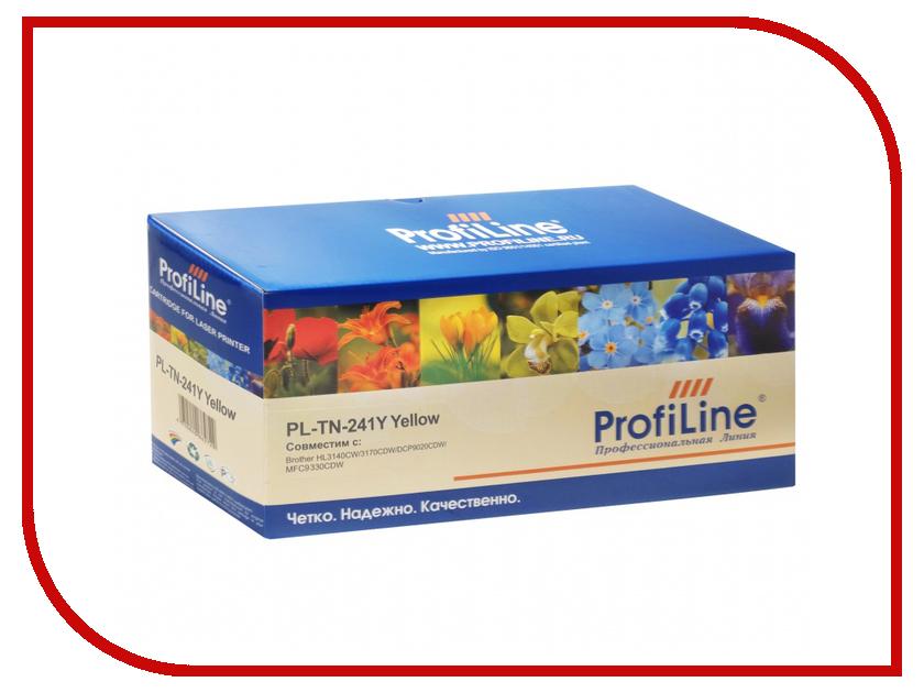 Картридж ProfiLine для HL3140CW/3170CDW/DCP9020CDW/MFC9330CDW PL-TN-241Y картридж brother tn 241y 1400 стр