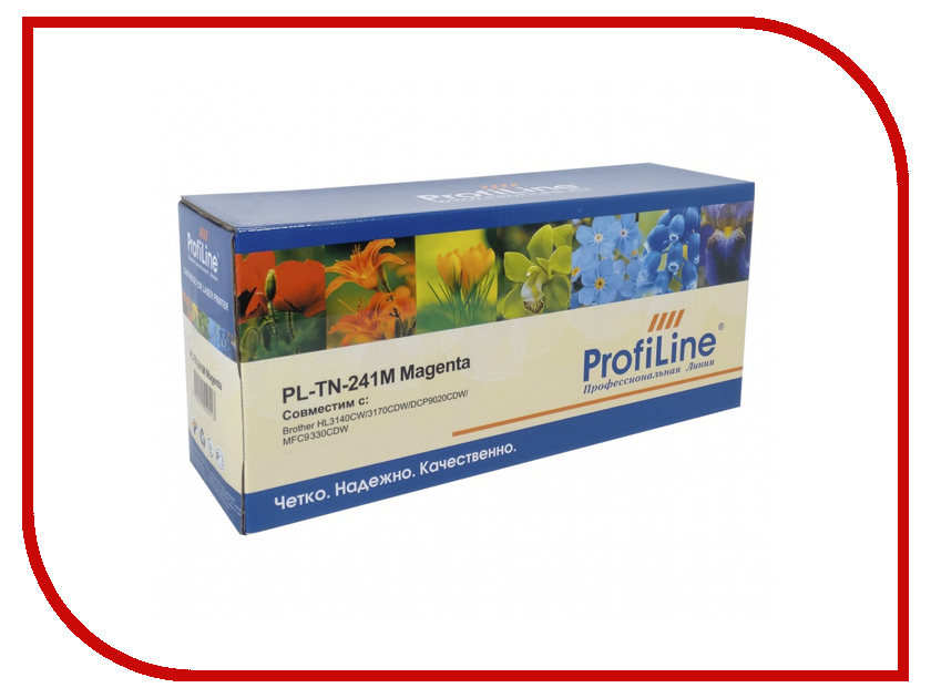Картридж ProfiLine для HL3140CW/3170CDW/DCP9020CDW/MFC9330CDW PL-TN-241M tpbhm tn225 laser toner powder for brother tn265 tn285 tn296 tn 221 tn 241 tn 251 tn 261 tn 281 kcmy 1kg bag color free fedex