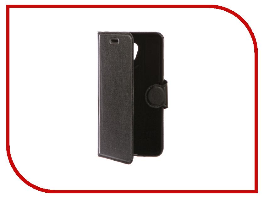 Аксессуар Чехол Meizu M5 Note Red Line Book Type Black