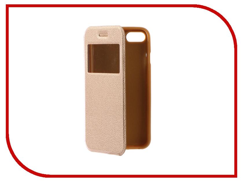Аксессуар Чехол Gecko Book для iPhone 7 (4.7) Gold G-BOOK-IPH-7-GOLD