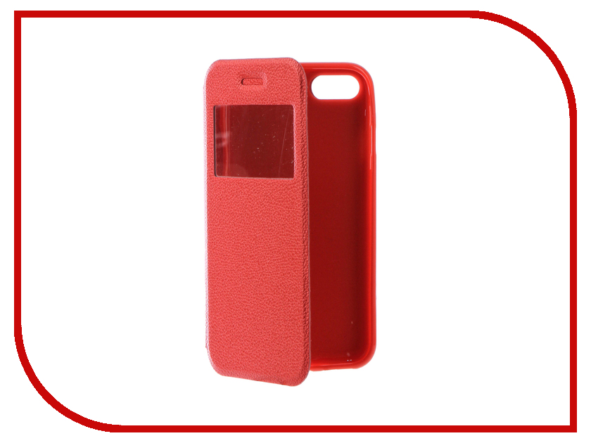 Аксессуар Чехол Gecko Book для iPhone 7 (4.7) Red G-BOOK-IPH-7-RED<br>