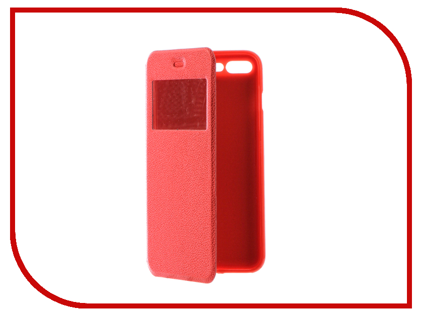 Аксессуар Чехол Gecko Book для iPhone 7 Plus (5.5) Red G-BOOK-IPH-7PL-RED