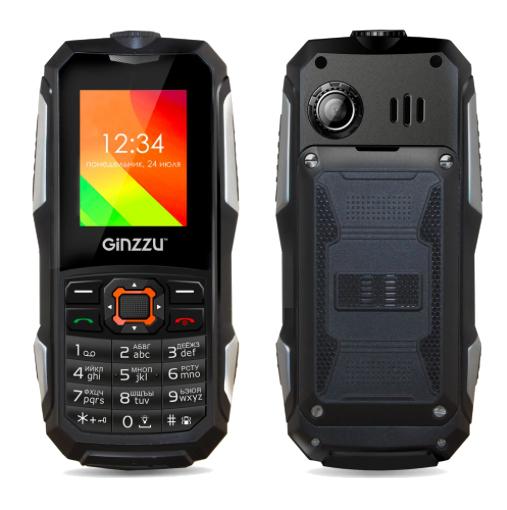 Сотовый телефон Ginzzu R50 Black