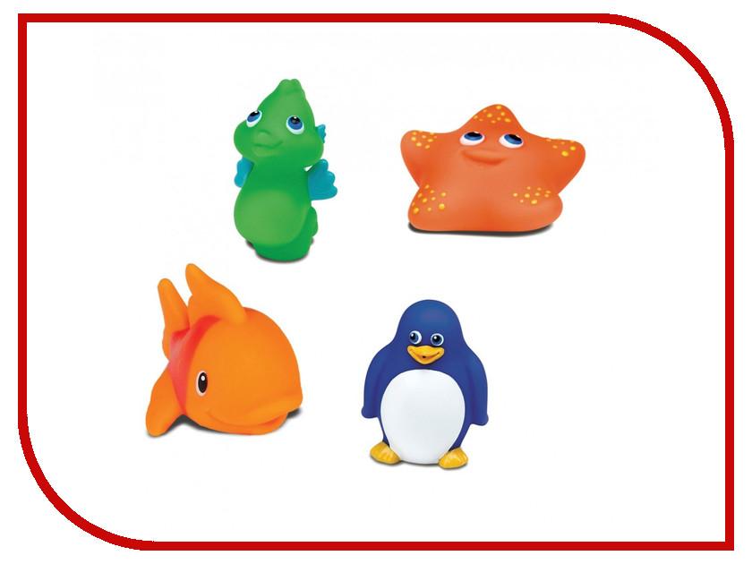 игрушка Munchkin Морские животные 4шт 11103 munchkin игрушка для ванной змейка