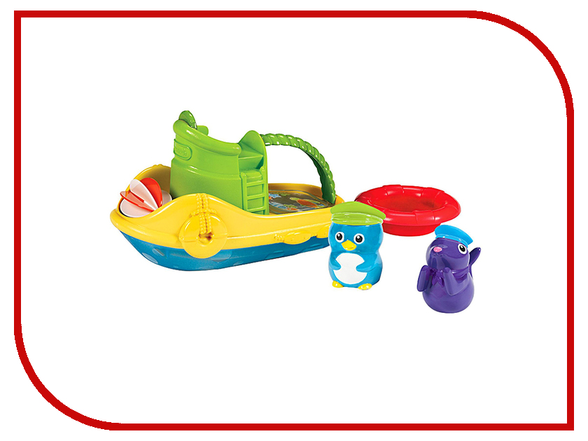 игрушка Munchkin Весёлая лодочка 11422 munchkin игрушка для ванной змейка