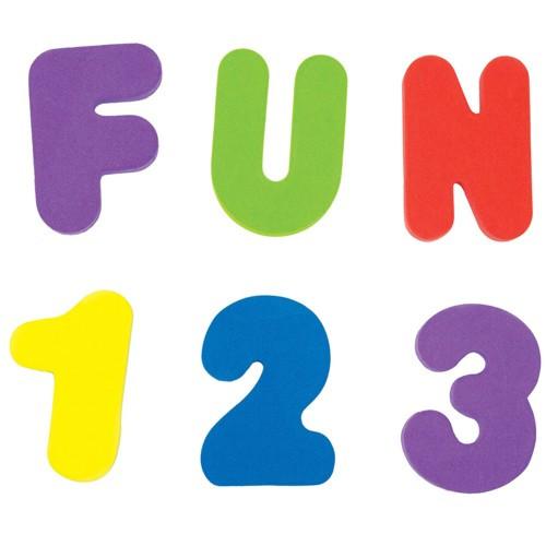 Игрушка Munchkin Буквы и Цифры 11108 буквы и цифры мастер игрушек магнитные цифры цифры ig0080