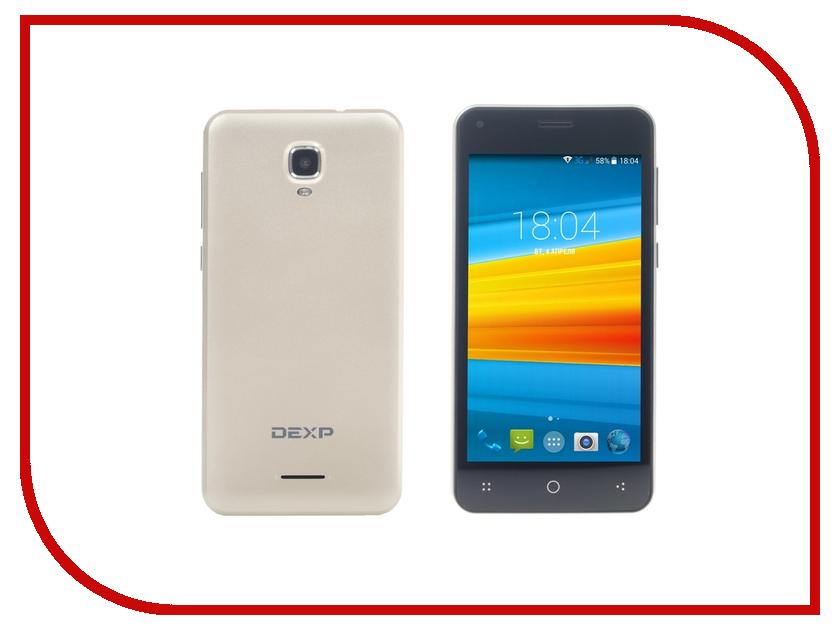 Сотовый телефон DEXP Ixion E345 Jet Gold сотовый телефон dexp ixion el450 force coffee