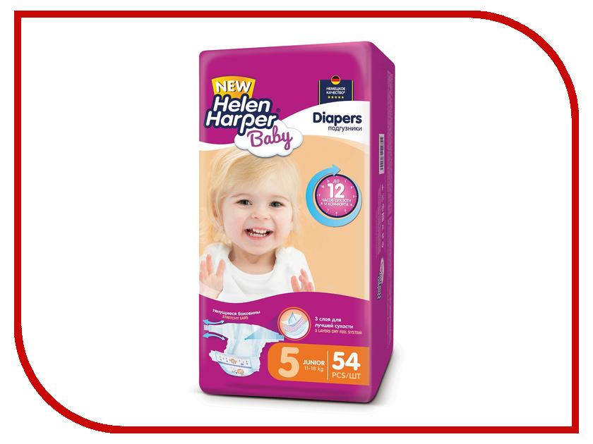 Подгузники Helen Harper Baby Junior 11-18кг 54шт 2312134 подгузники helen harper soft & dry maxi 7 18кг 96шт 2311652