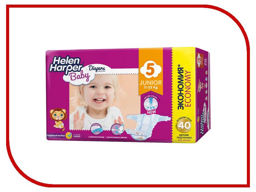 Подгузники Helen Harper Baby Junior 11-25кг 40шт 2310621