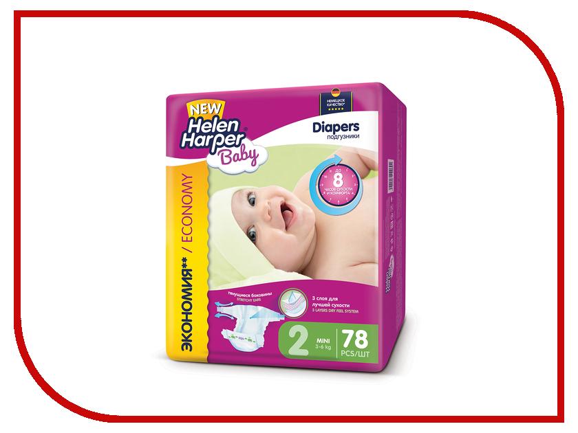 Подгузники Helen Harper Baby Mini 3-6кг 78шт 2310398 dk readers l3 helen keller