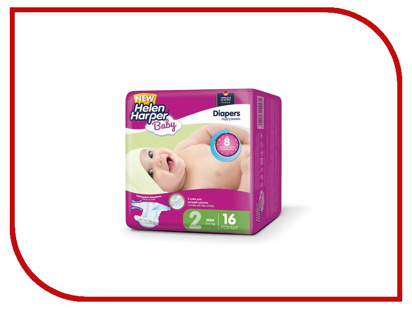 Подгузники Helen Harper Baby Mini 3-6кг 16шт 2310342