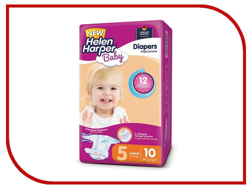 Подгузники Helen Harper Baby Junior 11-18кг 10шт 2311076 подгузники helen harper soft & dry maxi 7 18кг 96шт 2311652