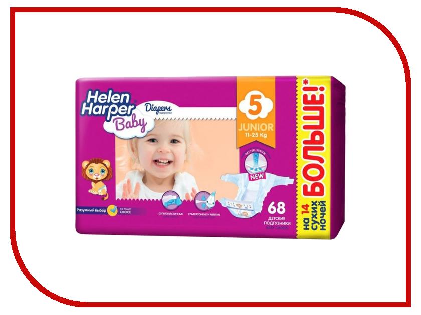 Подгузники Helen Harper Baby Junior 11-25кг 68шт 2311332 dk readers l3 helen keller