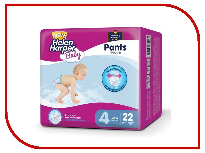 Подгузники Helen Harper Baby Maxi Трусики 8-13кг 22шт 27937 подгузники helen harper soft & dry maxi 7 18кг 96шт 2311652