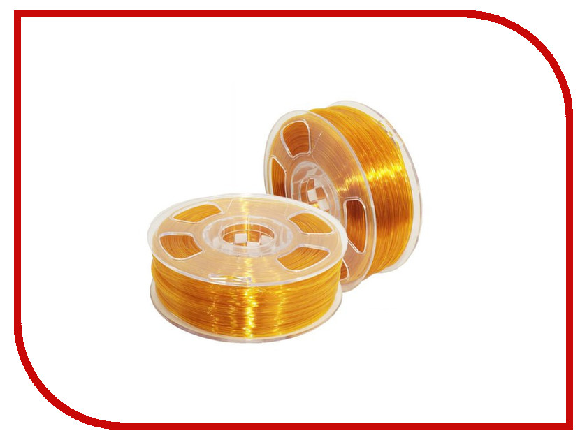 Аксессуар U3print Geek Fil/lament PETg 1.75mm 1kg Amber petg u3print