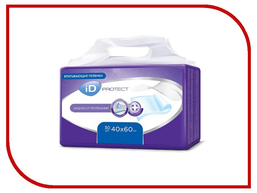 Пеленки iD Protect 40x60 cm 30шт 962421550
