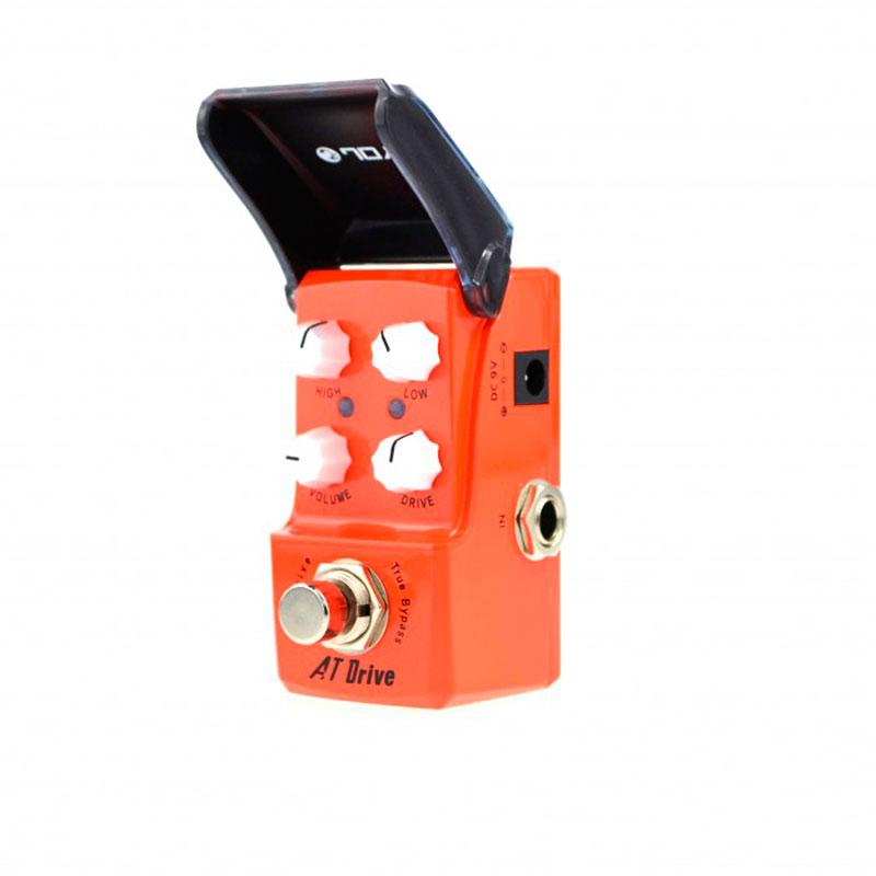 Педаль JOYO JF-305 AT Drive jf 39 deluxe crunch effects guitar pedal jf39 effect pedal joyo deluxe crunch pedals joyo