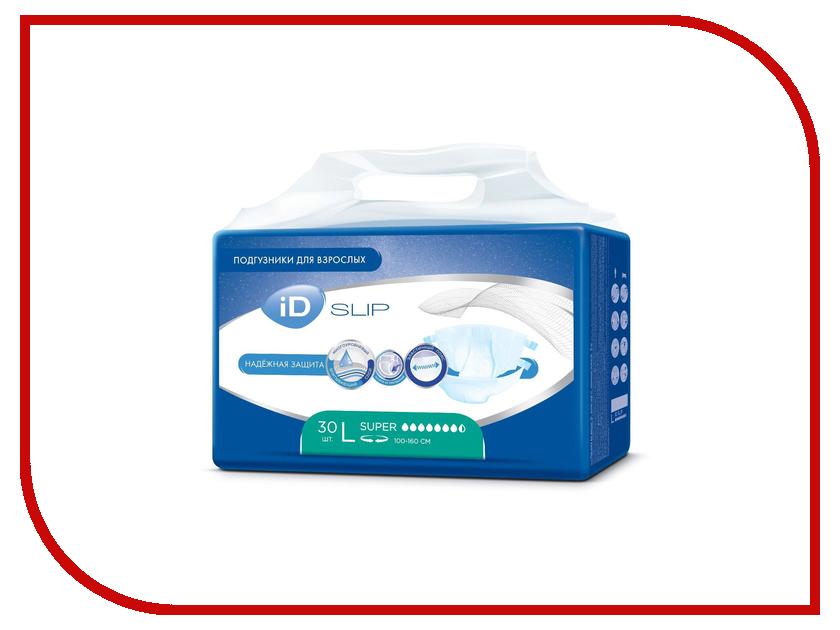Подгузники iD Protect Slip L 30шт 945341551