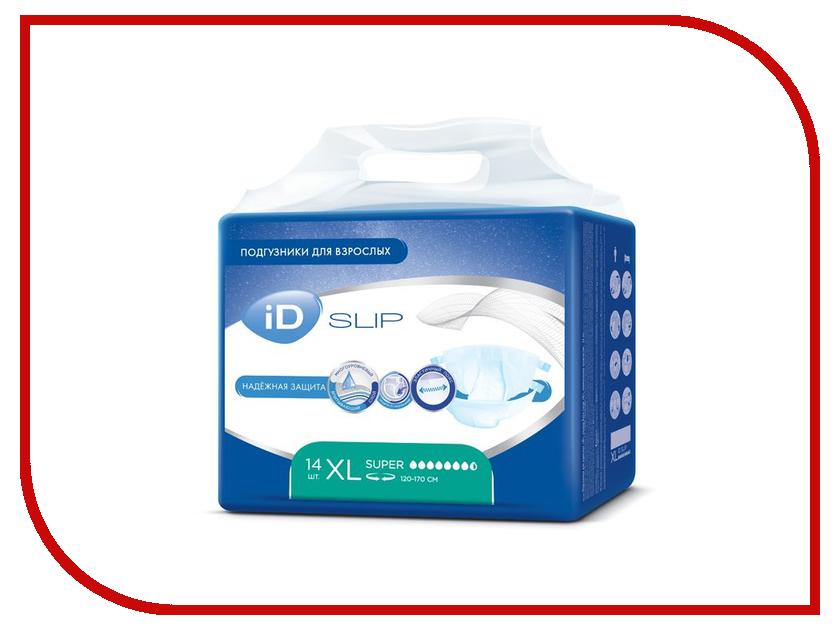 Подгузники iD Protect Slip XL 14шт 943441550