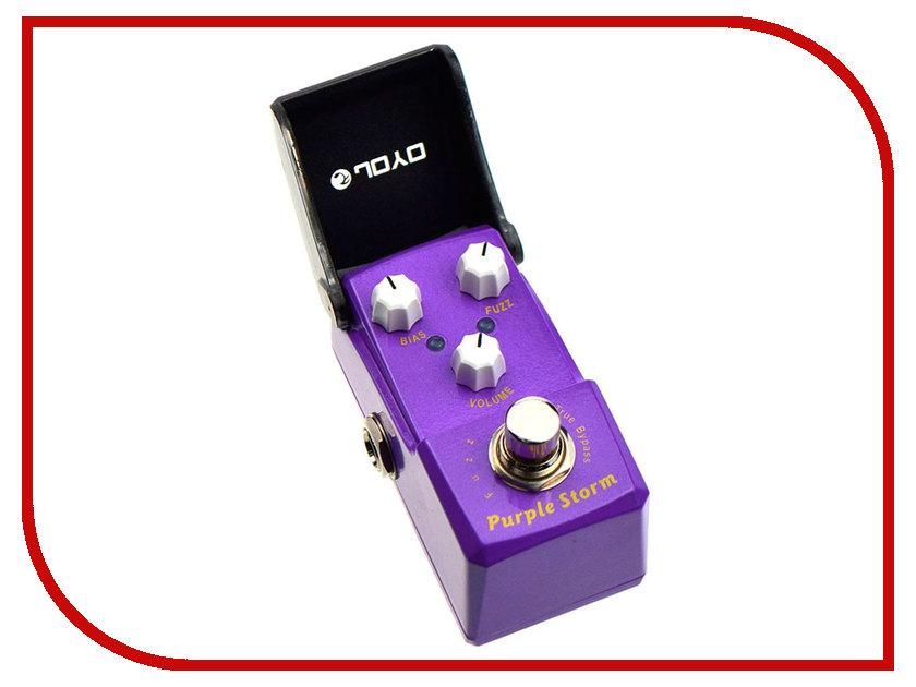 Педаль JOYO JF-320 Purple Storm joyo jt 301 purple