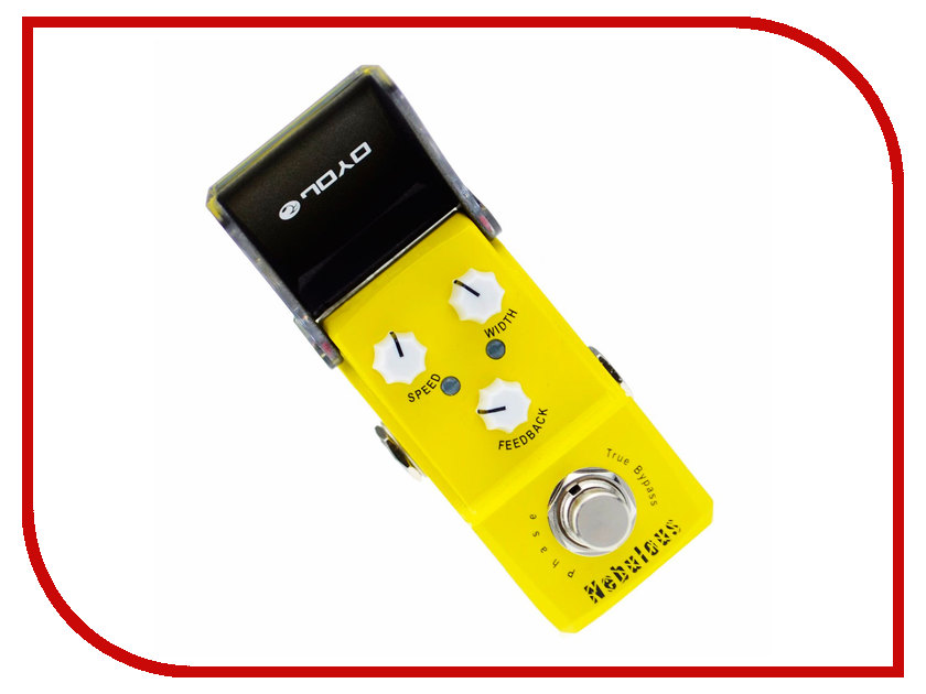 Педаль JOYO JF-328 Nebulous joyo jf 328 nebulous phase mini guitar effect pedal yellow