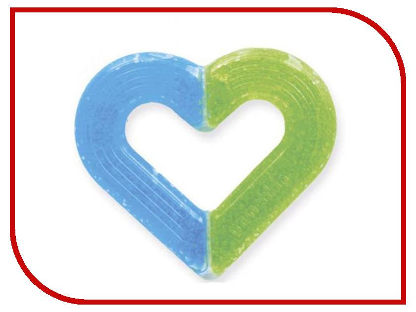 Прорезыватель Munchkin Сердечко Light Blue-Green недорого