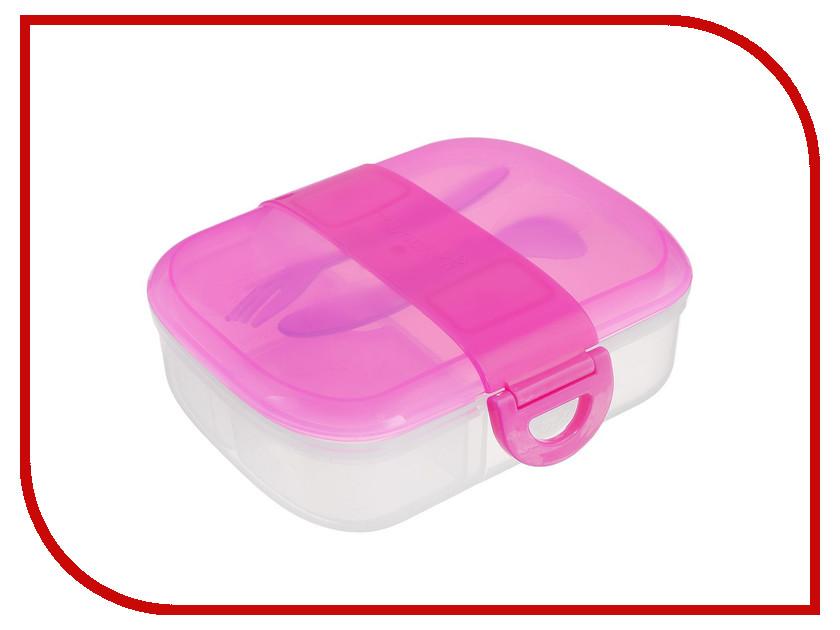 Ланч-бокс Вакуумный контейнер Munchkin Pink