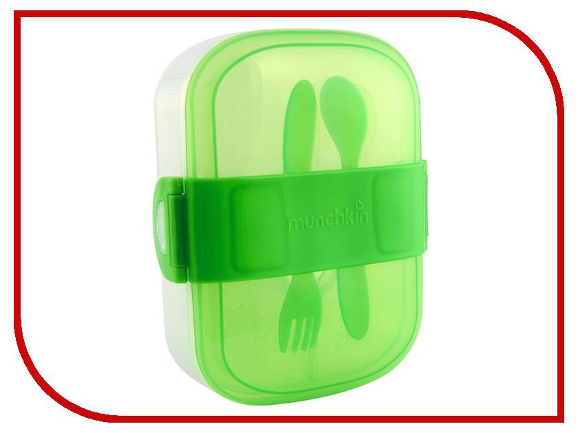 Ланч-бокс Вакуумный контейнер Munchkin Green 11402 ланч бокс black blum round white green bap rd l001
