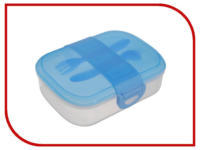 Ланч-бокс Вакуумный контейнер Munchkin Light Blue прорезыватель munchkin сердечко light blue green