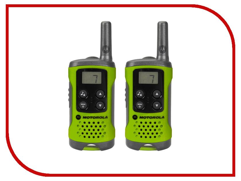 Рация Motorola TLKR-T41 Green motorola motorola mag one a5d коммерческая цифровая рация