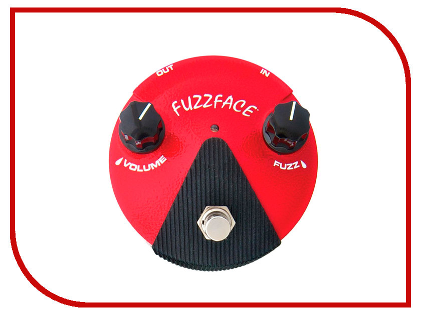 Аксессуар Dunlop FFM2 Germanium Fuzz Face Mini