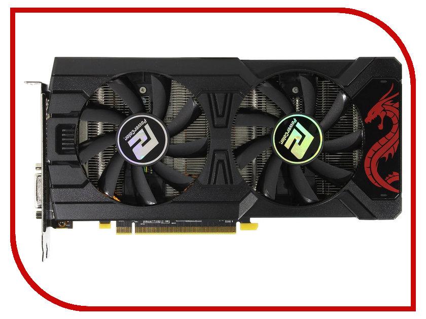Видеокарта PowerColor Radeon RX 470 1210Mhz PCI-E 3.0 4096Mb 6600Mhz 256 bit DP DVI HDMI HDCP AXRX 470 4GBD5-3DHDM OEM видеокарта powercolor 4096mb rx 570 red dragon axrx 570 4gbd5 3dhd oc 3xdp hdmi dvi ret