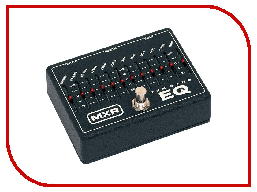 Аксессуар Dunlop MXR M108 10-Band Graphic EQ