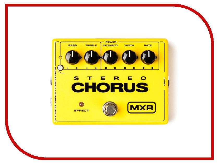 Педаль Dunlop MXR M134 Stereo Chorus
