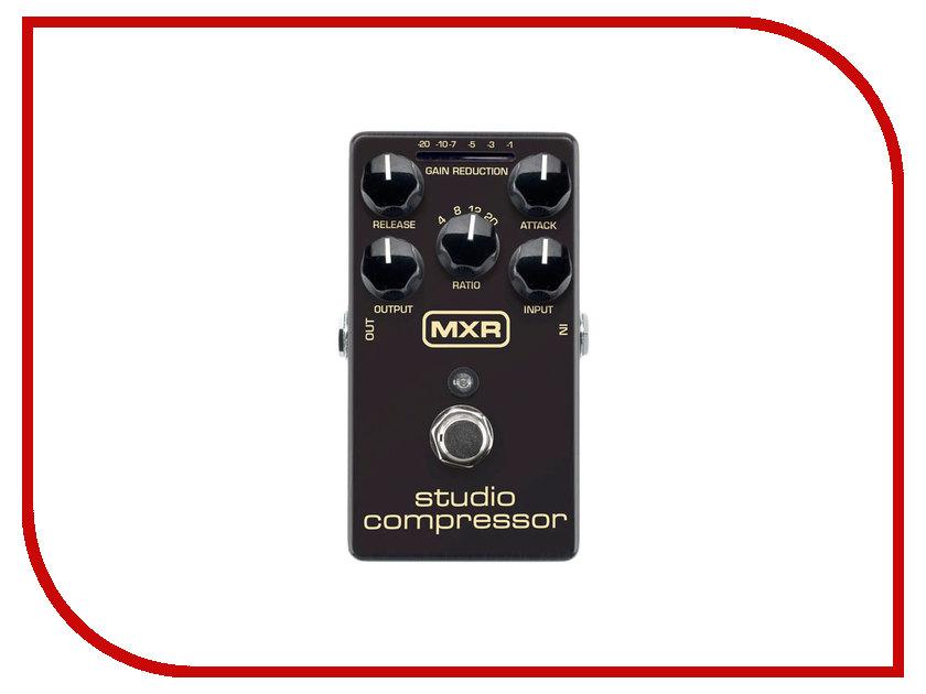 Педаль Dunlop MXR M76 Studio Compressor