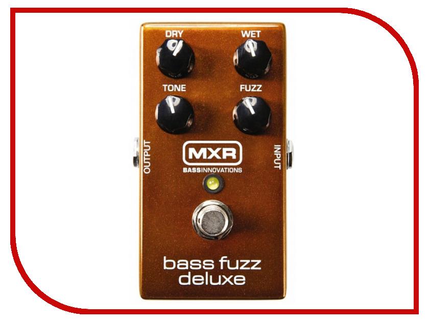 Педаль Dunlop MXR M84 Bass Fuzz Deluxe педаль overdrive и distortion dunlop jimi hendrix octavio fuzz ltd