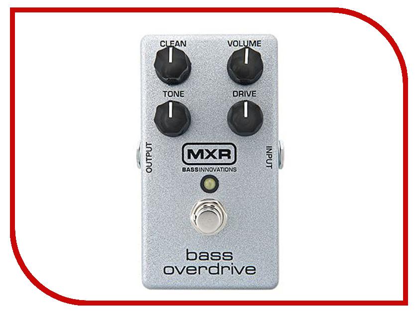 Педаль Dunlop MXR M89 Bass Overdrive аксессуар dunlop whe202 green rhino overdrive