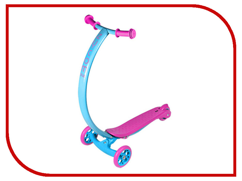 Самокат Zycom Cruz С100 Blue-Pink zipster тигренок zycom