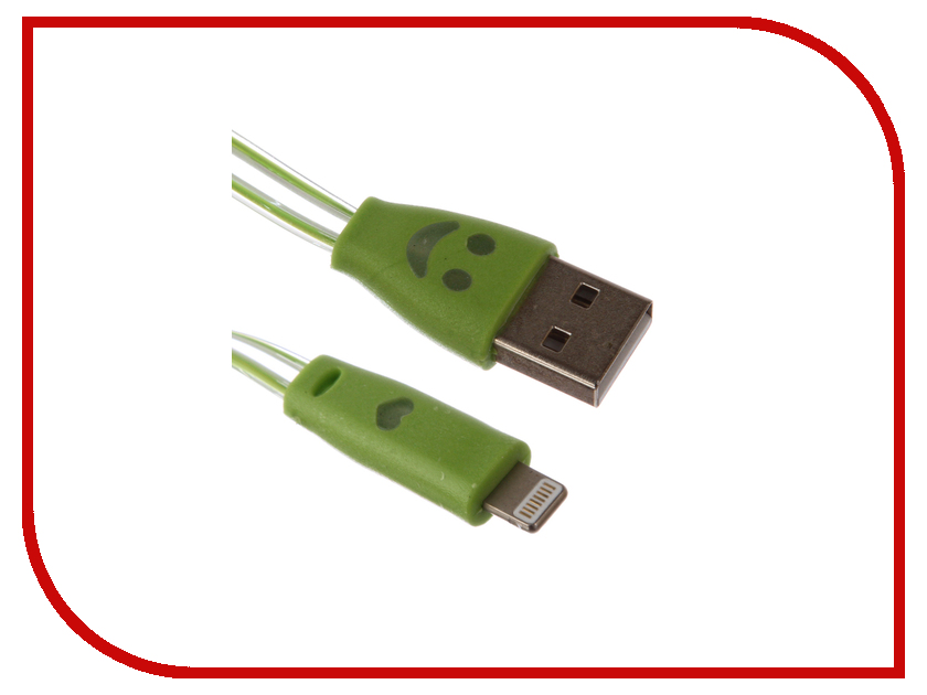 Аксессуар Prolike USB - 8 pin Lightning 1.2m PL-IP8-TSLED-1,2-GN