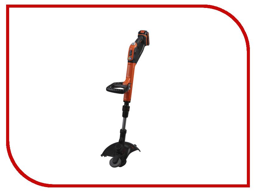 Газонокосилка Black+Decker STC1820EPC газонокосилка аккумуляторная black decker clm3820l2
