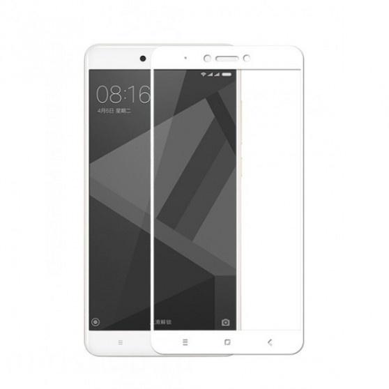 Аксессуар Защитное стекло Ainy для Xiaomi Redmi Note 4X Full Screen Cover 0.33mm White AF-X020B