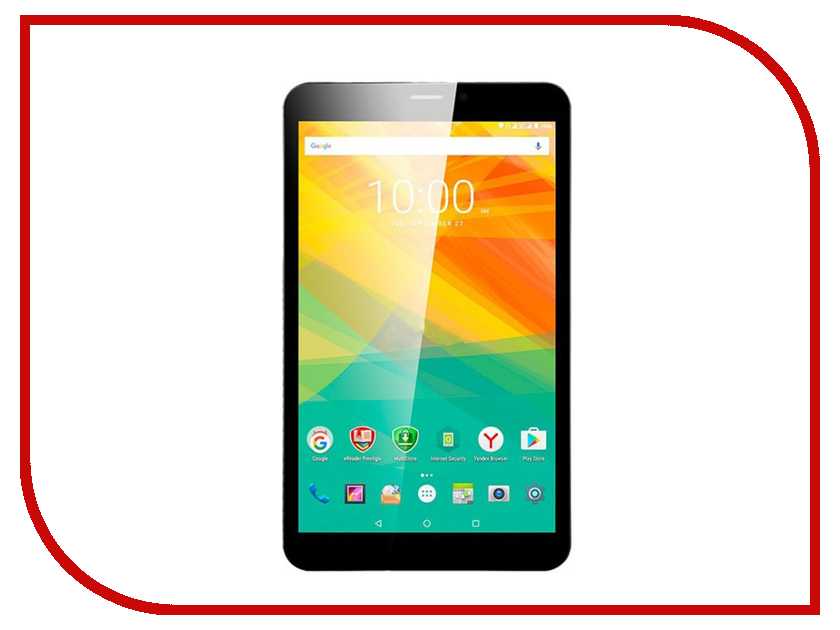 Планшет Prestigio MultiPad Grace 3118 16Gb PMT31183GEDCIS Black (MediaTek MT8321 1.2 GHz/1024Mb/16Gb/Wi-Fi/Bluetooth/Cam/8.0/1280x800/Android)