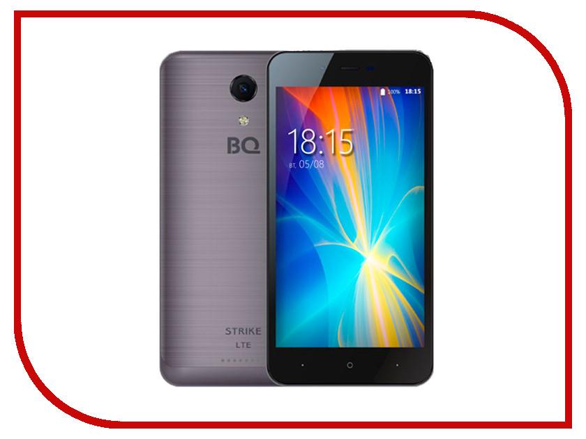Сотовый телефон BQ 5044 Strike LTE Dark Gray Brushed телефон престижио 5044