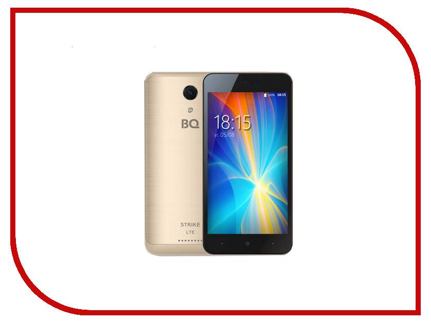 Сотовый телефон BQ 5044 Strike LTE Gold Brushed телефон престижио 5044