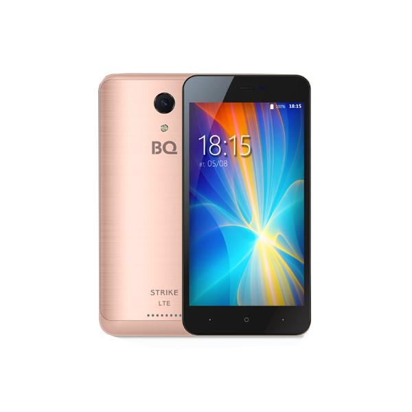 Сотовый телефон BQ 5044 Strike LTE Rose Gold Brushed