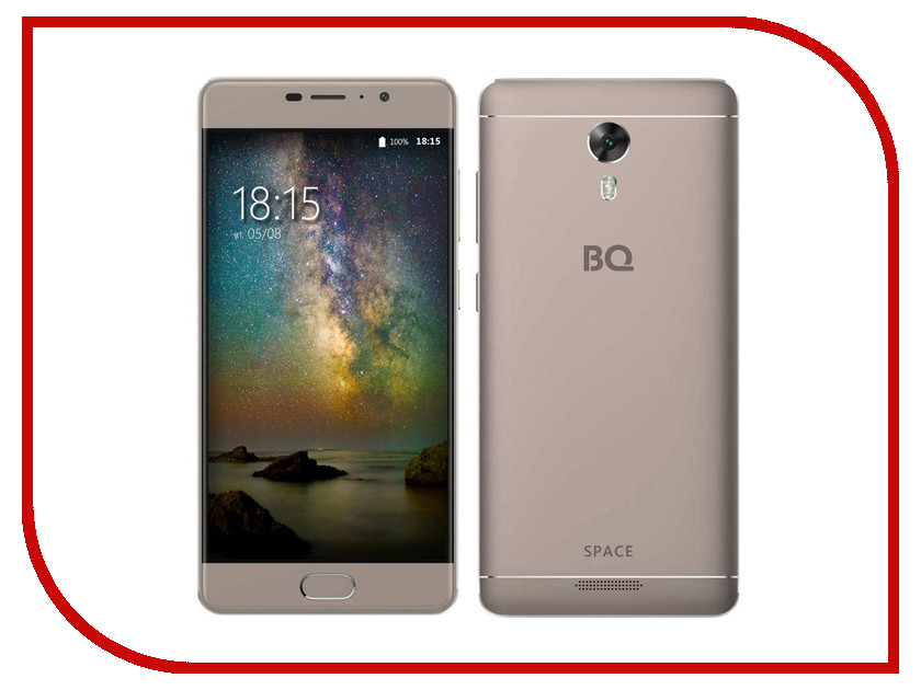 Сотовый телефон BQ 5201 Space Gray сотовый телефон bq 1807 step black