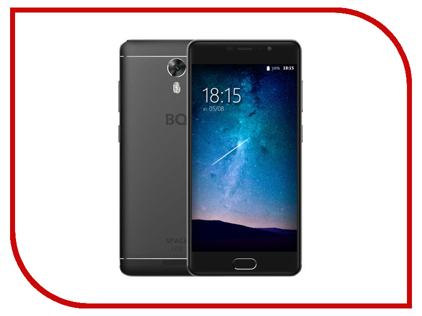 Сотовый телефон BQ 5202 Space Lite Black смартфон bq mobile space lite black bq 5202