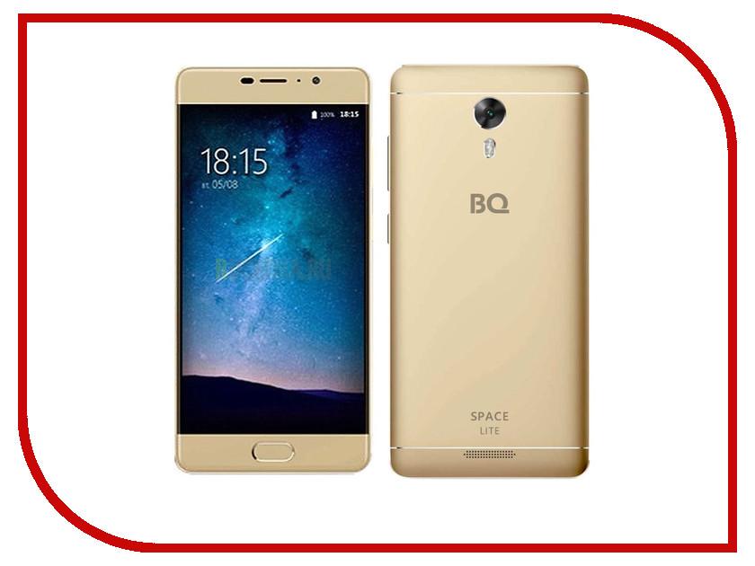 Сотовый телефон BQ 5202 Space Lite Gold смартфон bq mobile space lite black bq 5202